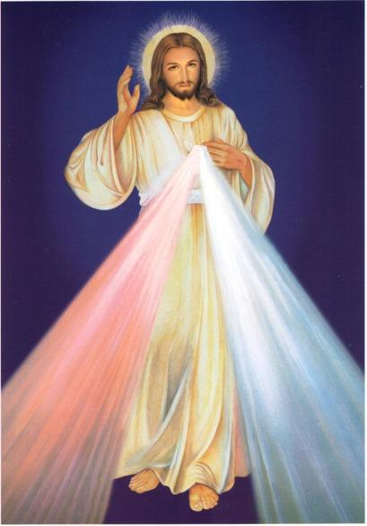 Christ With Light Pouring From His Heart.